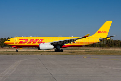 EAT Leipzig's first Airbus A330, ex A6-DCD, delivered on August 14, 2018