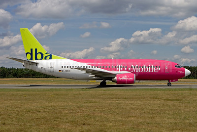 "DBA's 2005 ""T-Mobile"" promotional livery"