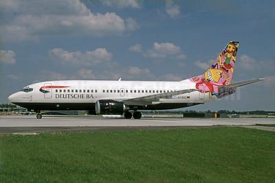 "BA's 1997 ""Paradiesvogel"" livery"
