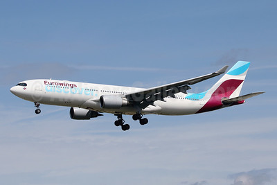 Eurowings Discover Airbus A330-203 D-AXGE (msn 612) FRA (Javier Rodriguez). Image: 954686.