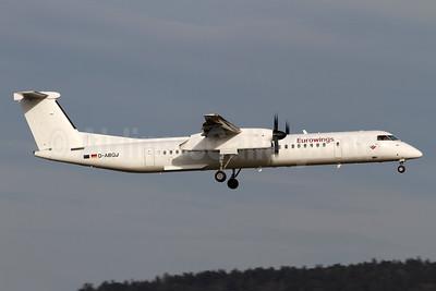 Eurowings (LGW) Bombardier DHC-8-402 (Q400) D-ABQJ (msn 4274) ZRH (Andi Hiltl). Image: 940827.