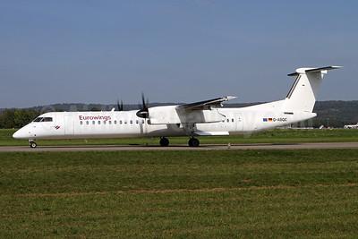 Eurowings (LGW) Bombardier DHC-8-402 (Q400) D-ABQC (msn 4231) ZRH (Andi Hiltl). Image: 943756.