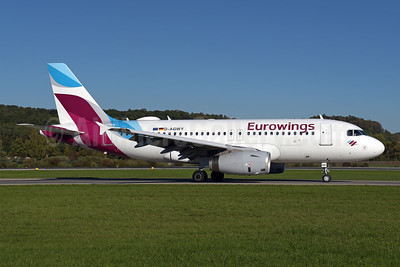 Eurowings Airbus A319-132 D-AGWY (msn 5941) ZRH (Rolf Wallner). Image: 943810.