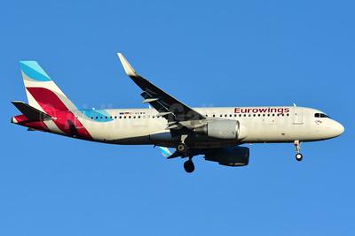 Eurowings Airbus A320-214 WL D-AEWN (msn 7393) BSL (Paul Bannwarth). Image: 937399.