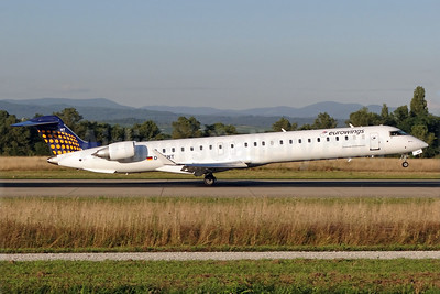 Eurowings (Lufthansa Regional) Bombardier CRJ900 (CL-600-2D14) D-ACNT (msn 15264) BSL (Paul Bannwarth). Image: 939084.