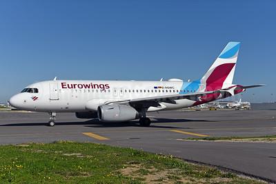 Eurowings (Airberlin) Airbus A319-132 D-AGWC (msn 2976) LIS (Ton Jochems). Image: 940727.
