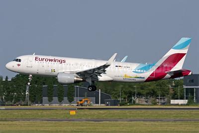 "Eurowing's 2016 ""Visit Sweden - Goteborg"" promotional livery"