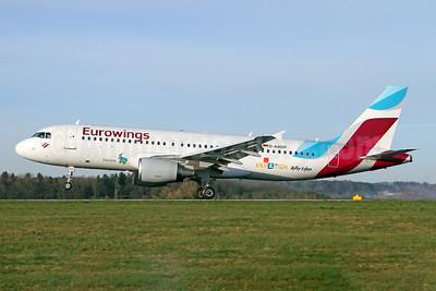 "Eurowings' 2017 ""Kroatien Voller Leben"" logo jet"