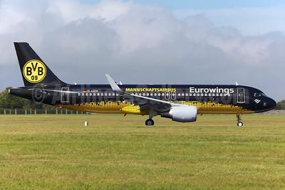 Eurowings Airbus A320-214 WL D-AIZR (msn 5525) (BVB 09 - Mannschaftsairbus) DUB (Greenwing). Image: 935067.