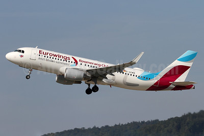 Eurowings Airbus A320-214 WL D-AEWM (msn 7259) (Boomerang Club) ZRH (Andi Hiltl). Image: 939187.