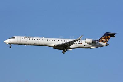 Eurowings (Lufthansa Regional)-Germanwings (2nd)  Bombardier CRJ900 (CL-600-2D14) D-ACNA (msn 15229) LHR (SPA). Image: 928918.