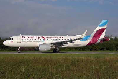 """Eurowings' 2016 """"Boomerang Club"""" special livery"""