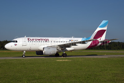 Eurowings Airbus A319-112 D-ABGQ (msn 3700) ZRH (Rolf Wallner). Image: 947065.