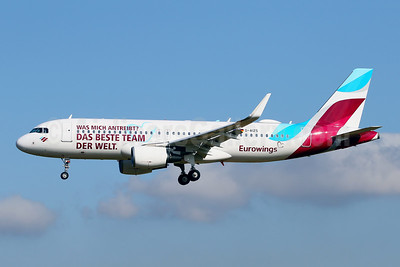 Special 2021 livery to salute Eurowing's employees during COVID-19