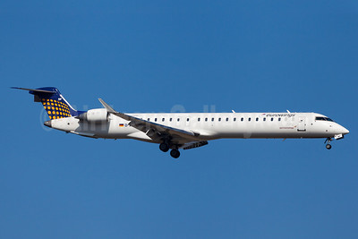 Eurowings (Lufthansa Regional)-Germanwings (2nd)  Bombardier CRJ900 (CL-600-2D14) D-ACNF (msn 15243) MUC (Arnd Wolf). Image: 922353.