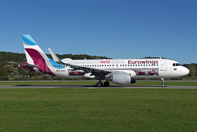 Eurowings' 2018 Avis promotional livery