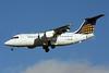Eurowings (Lufthansa Regional) BAe 146-200 D-AEWD (msn E2069) LHR (Antony J. Best). Image: 902079.