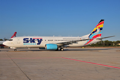 German Sky Airlines Boeing 737-883 D-AGSA (msn 28323) PMI (Ton Jochems). Image: 907064.