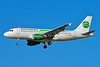 Germania Fluggesellschaft Airbus A319-112 D-ASTY (msn 3407) TLS (Paul Bannwarth). Image: 936778.