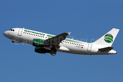 Germania Fluggesellschaft (flygermania.com) Airbus A319-112 D-ASTF (msn 4268) PMI (Javier Rodriguez). Image: 937667.