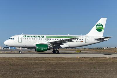 Germania Fluggesellschaft Airbus A319-112 D-ASTT (msn 3560) PMI (Ton Jochems). Image: 923547.