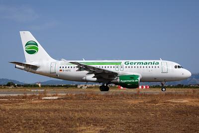 Germania Fluggesellschaft (flygermania.com) Airbus A319-112 D-ASTC (msn 5085) PMI (Ton Jochems). Image: 953733.