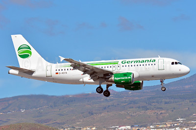 Germania Fluggesellschaft Airbus A319-112 D-ASTA (msn 4663) TFS (Paul Bannwarth). Image: 938697.