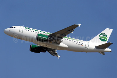 Germania Fluggesellschaft Airbus A319-112 D-ASTT (msn 3560) PMI (Javier Rodriguez). Image: 922734.
