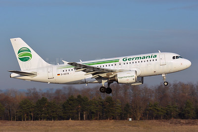 Germania Fluggesellschaft Airbus A319-112 D-ASTR (msn 3950) BSL (Paul Bannwarth). Image: 936778.