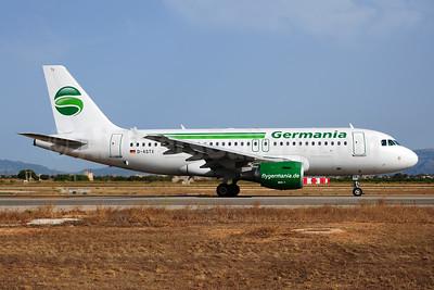 Germania Fluggesellschaft (flygermania.com) Airbus A319-111 D-ASTX (msn 3202) PMI (Ton Jochems). Image: 953732.