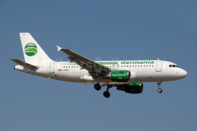 Germania Fluggesellschaft Airbus A319-112 D-AHIM (msn 3818) AYT (Paul Denton). Image: 909629.