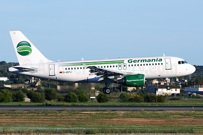 Germania Fluggesellschaft Airbus A319-111 D-ASTJ (msn 3364) PMI (Javier Rodriguez). Image: 942490.