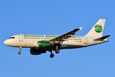Germania Fluggessellschaft Airbus A319-112 D-ASTZ (msn 3019) TLS (Paul Bannwarth). Image: 939509.