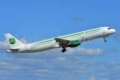 Germania Fluggesellschaft Airbus A321-211 D-ASTP (msn 684) BSL (Paul Bannwarth). Image: 944581.
