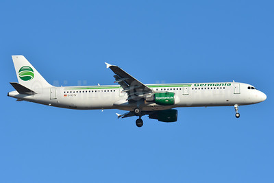 Germania Fluggesellschaft Airbus A321-211 WL D-ASTV (msn 995) BSL (Paul Bannwarth). Image: 937670.