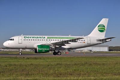 Germania Fluggessellschaft Airbus A319-112 D-ASTZ (msn 3019) TLS (Robbie Shaw). Image: 937690.