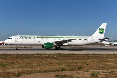 Germania Fluggesellschaft Airbus A321-211 WL D-ASTV (msn 995) PMI (Ton Jochems). Image: 944583.