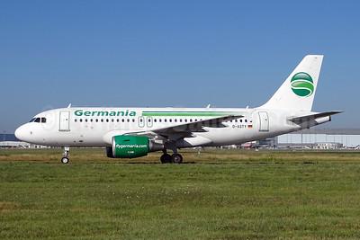 Germania Fluggesellschaft Airbus A319-112 D-ASTY (msn 3407) TLS (Paul Bannwarth). Image: 944580.