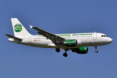 Germania Fluggesellschaft Airbus A319-112 D-ASTA (msn 4663) MUC (Tony Storck). Image: 909630.