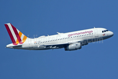 Germanwings (2nd) Airbus A319-132 D-AGWF (msn 3172) LHR (SPA). Image: 941351.