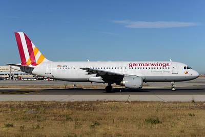 Germanwings (2nd) Airbus A320-211 D-AIPW (msn 137) PMI (Ton Jochems). Image: 937511.