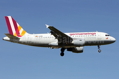 Germanwings (2nd) Airbus A319-112 D-AKNQ (msn 1170) LIS (Pedro Baptista). Image: 911789.