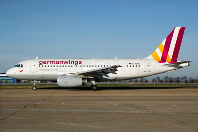 Germanwings (2nd) Airbus A319-132 D-AGWU (msn 5457) LHR (Wingnut). Image: 926862.
