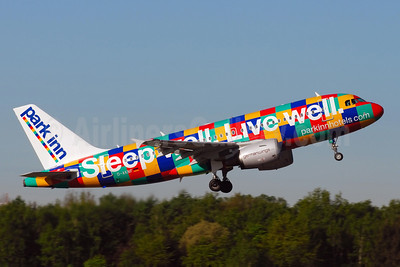 "Germanwing's 2007 ""Park Inn"" promotional livery"