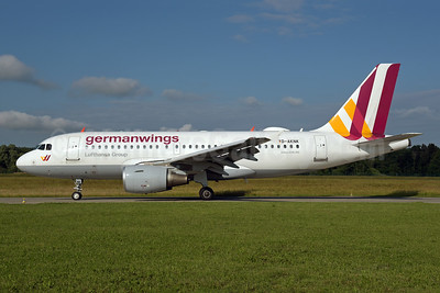 Germanwings (2nd) Airbus A319-112 D-AKNK (msn 1077) ZRH (Rolf Wallner). Image: 942242.