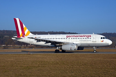 Germanwings (2nd) Airbus A319-132 D-AGWO (msn 4166) ZRH (Rolf Wallner). Image: 937002.