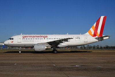 Germanwings (2nd) Airbus A319-112 D-AKNJ (msn 1172) LHR (SPA). Image: 926859.