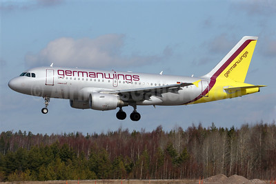 Germanwings (2nd) Airbus A319-112 D-AKNQ (msn 1170) ARN (Stefan Sjogren). Image: 900240.