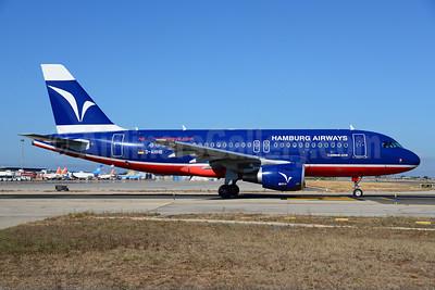 Hamburg Airways Airbus A319-112 D-AHHB (msn 3560) (Hamburg International 10 Jahre colors)  PMI (Ton Jochems). Image: 920441.