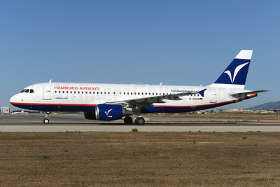 Hamburg Airways Airbus A320-214 D-AHHH (msn 714) PMI (Ton Jochems). Image: 923559.